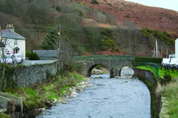 Old Laxey Bridge, or Monks Bridge