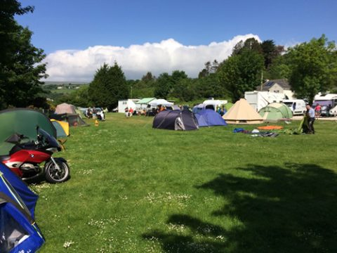 Laxey Campsite at TT